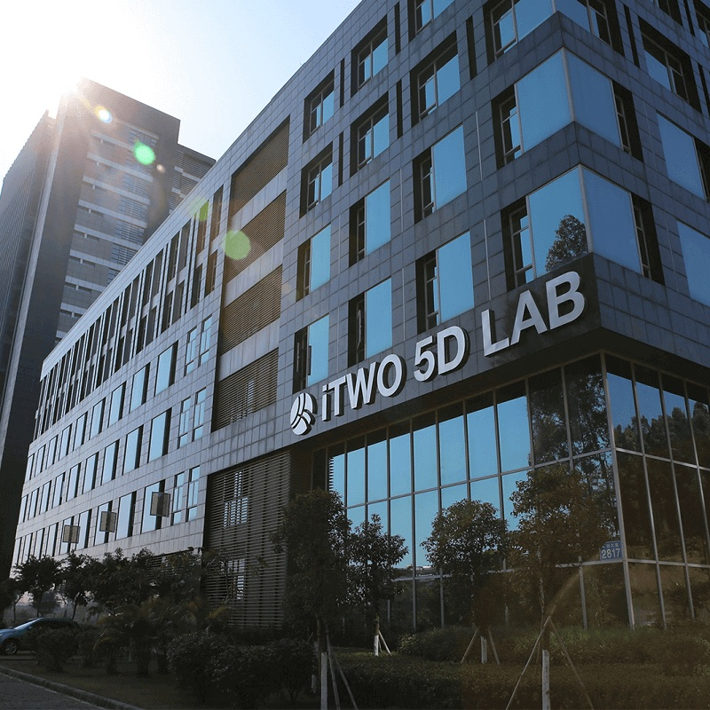 iTWO 5D LAB in Guangzhou, China