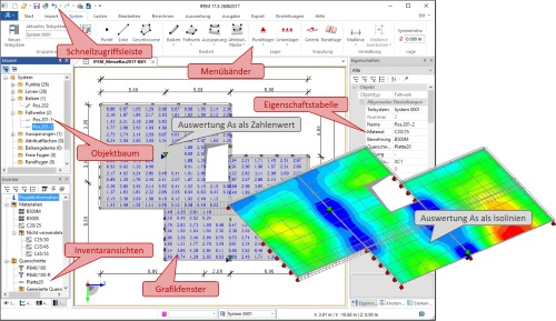 Highlight: BIM Solution iTWO Structure FEM