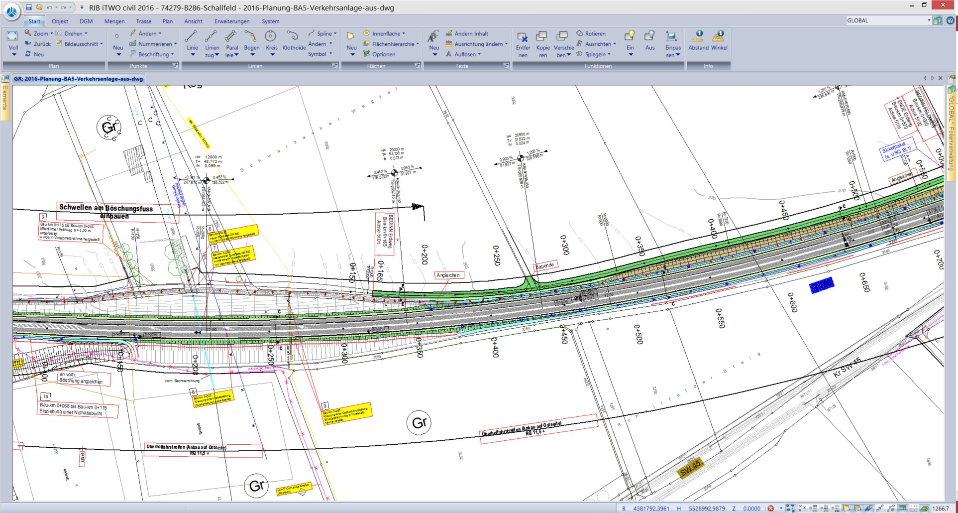 Surveyor and software expert Jens Martin created a new digital specification with RIB iTWO civil